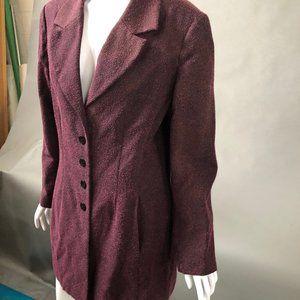 Mary McFadden Suit Coat sz 16
